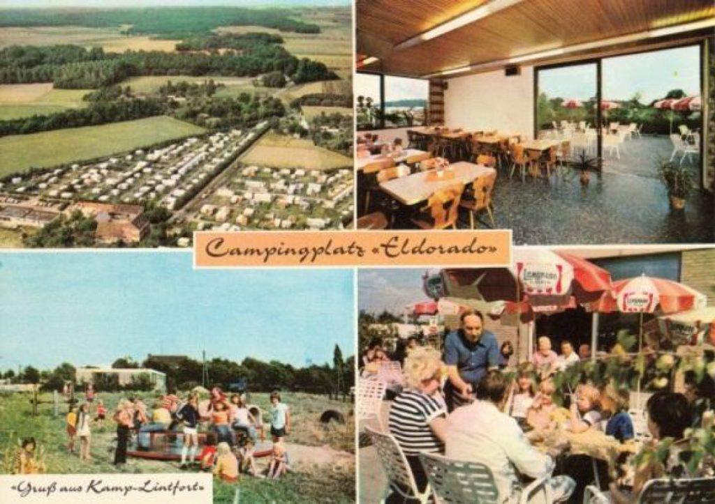 Campingplatz-Eldorado-Postkarte